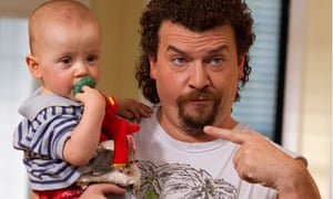 Danny McBride and child in Eastbound And Down