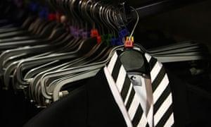 School uniforms on display at a shop in Edinburgh