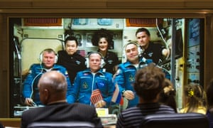 International Station Expedition 33/34 crew members