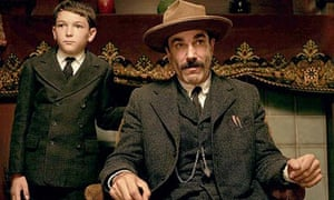 Dillon Freasier and Daniel Day-Lewis in There Will Be Blood.