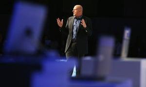 Steve Ballmer at Windows 8 launch