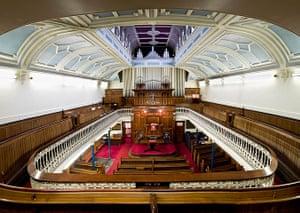 Hidden London interiors: Welsh Church,  Westminster, London