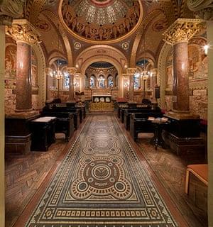 Hidden London interiors: Great Ormond Street Hospital Chapel, Camden, London