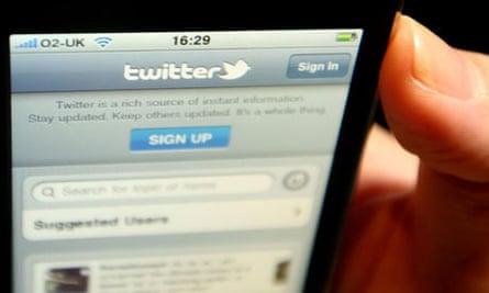 Twitter registration