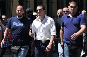 Golden Dawn: Golden Dawn Member of Parliament Ilias Kasidiaris