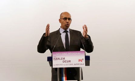 Harlem Désir set to become first black politician to lead French Socialist party