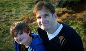 Adam Marek and his son Max