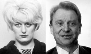 Moors murderer Myra Hindley and former Observer editor David Astor