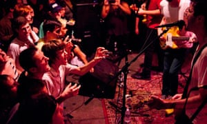 Titus Andronicus plays live