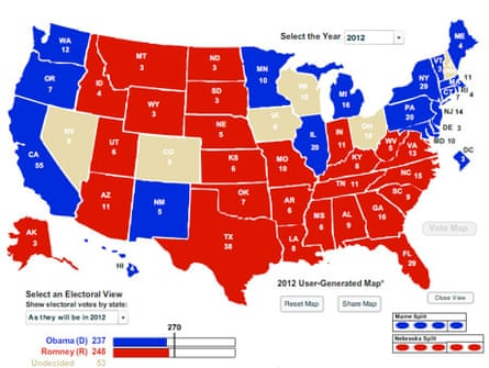 electoral map 10/26