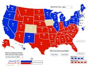 electoral map 2, 10/26