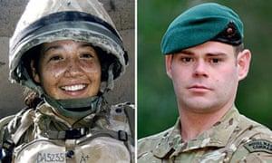 British troops killed in Afghanistan