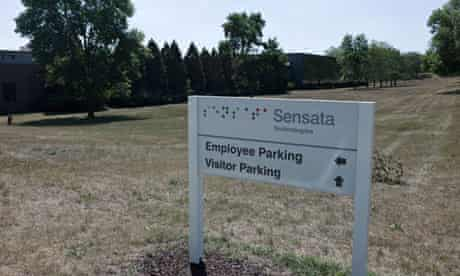 Sensata plant in Illinois