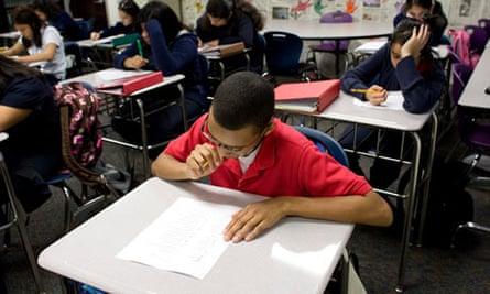 Standardised tests in school