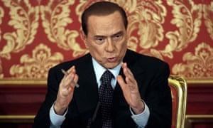 Former Italian premier Silvio Berlusconi confirms he will not run for Italian Premier