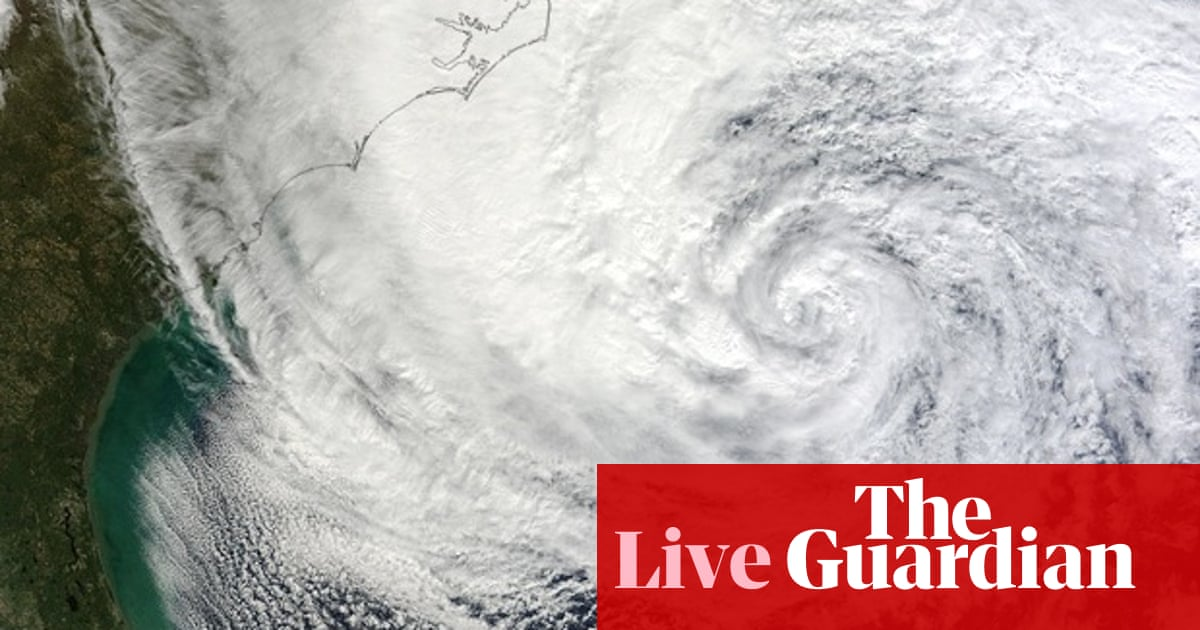 Hurricane Sandy approaches east coast: live updates | World news