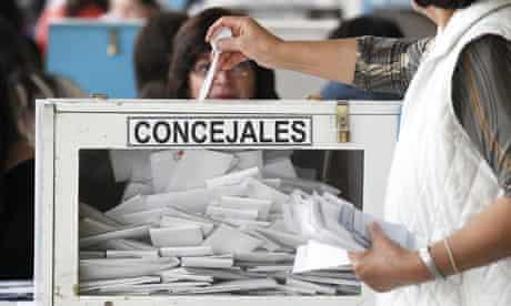 Chile municipal elections