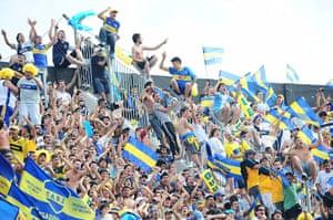 Boca Juniors River Plate: Boca Juniors supporters
