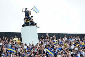 Boca Juniors River Plate: Boca Juniors fans
