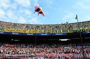 Boca Juniors River Plate: Boca Junior pig