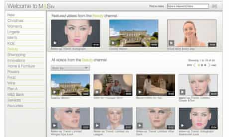 M&S TV content marketing