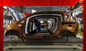Unaf-ford-able: A worker checks vehicles at a Ford car plant in Craiova, Romania. Ford will stop making vans in Britain next year, cutting 1,400 jobs on top of 4,300 to be axed in Belgium as part of a plan by the U.S. car maker to stem European losses expected to exceed $1.5 billion this year. Photograph: Bogdan Cristel/Reuters