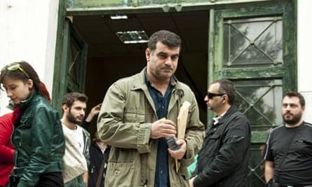 Greek Journalist Kostas Vaxevani'