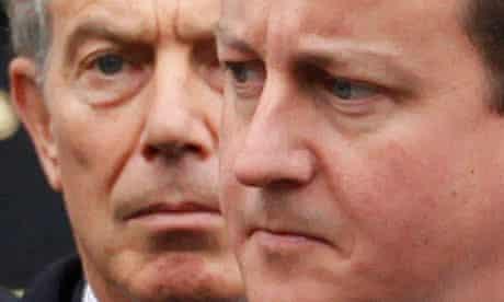 British Conservative party leader David