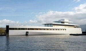 Steve Jobs superyacht unveiled in the Netherlands