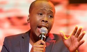 Khaya Mthethwa, winner of Idols South Africa