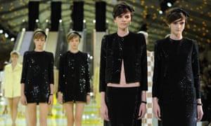 Louis Vuitton sparkles in Paris