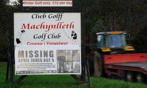 Missing posters in Machynlleth