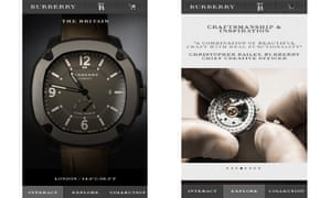 Burberry HTML5 site