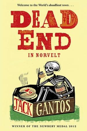 Children's fiction prize: Dead End in Norvelt by Jack Gantos
