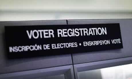 voter registration suit
