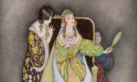 Illustration of the Queen in Snow White