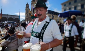 Revellers gather to celebrate German Unity Day in Munich