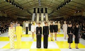 Louis Vuitton's spring/summer 2013 collection at Paris fashion week