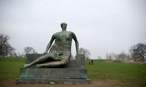 Draped Seated Woman by Henry Moore