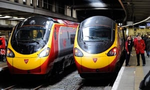 Image result for virgin trains euston