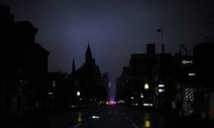 Sandy blackout New York