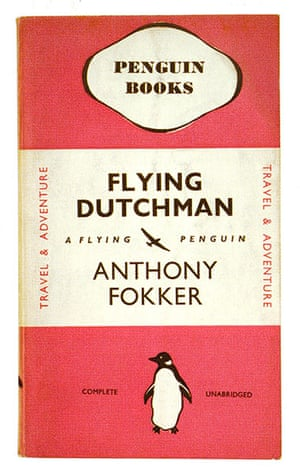 Penguin covers: Flying Dutchman by Anthony Fokker, 1938