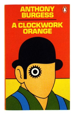 Penguin covers: A Clockwork Orange by Anthony Burgess, 1985.