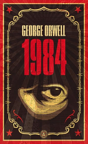 Penguin covers: Nineteen Eighty-Four by George Orwell