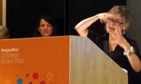 Cressida Cowell announces Guardian children's fiction prze-winner