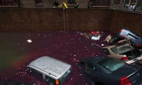 New York car park