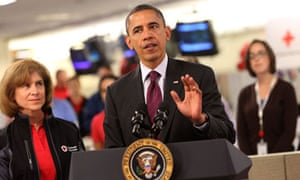 Barack Obama, Sandy