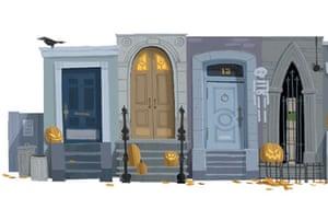 Google doodle celebrates Halloween   Technology   The Guardian