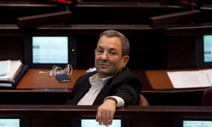 Israeli defence minister Ehud Barak looks on during the opening of the Knesset plenum in Jerusalem, Israel earlier this month.