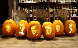 Pumpkins: And a more upmarket version from Fortnum & Masons